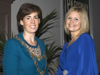Hildegarde Naughton, Mayor of Galway City and Leigh McCann, GAP Chairperson.