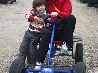 Shay Tottman and his mum Laura.