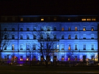 A blue Hotel Meyrick for the launch of GAP.